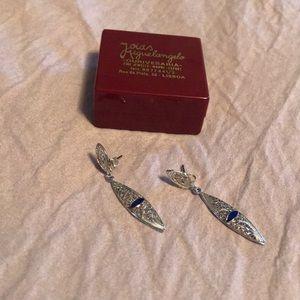 Jewelry - Portuguese Sterling Silver Earrings